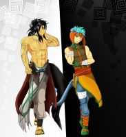 Ranulf and Volug by Alamino