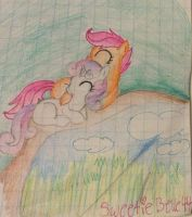 An afternoon nap by sweetiebelle44