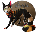 Serafine the second by WolfHearts