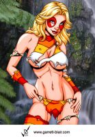Savage Land Marionette by gb2k by Mythical-Mommy