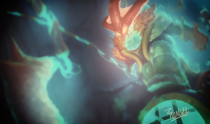 Deep Terror Thresh wallpaper by deadSerious by magoshadow