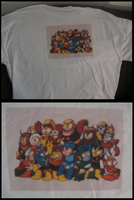 Megaman Shirt by ProfessorMegaman