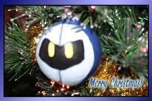 Merry Christmas: Meta Knight by StarFaerieNomad