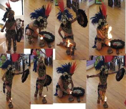 Free Aztec Dancer stock 7 by tursiart