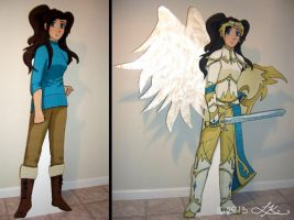 Armor of God Standee by WingedValiance