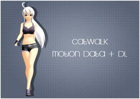 Motion Data DL: Catwalk by tweekcrystal