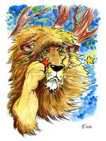 Cowardly Lion of OZ by Clone-Artist