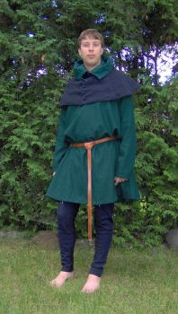 13-14th century man costume 3 by Laerad