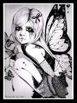 Butterfly Cry by MissLadyMalice