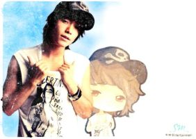 Donghae Wallpaper by emmyxogats