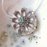 Winter Flower Pendant by c-urchin