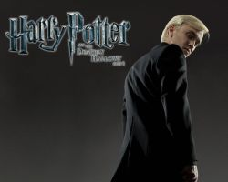 Draco Malfoy DH-1 Wallpaper by hacques