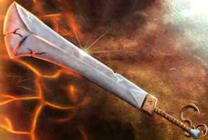 Animus Artwork-Sword by KingVego
