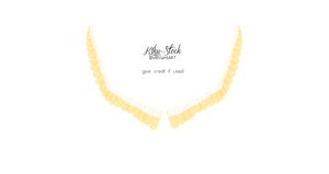 Spread Wings - White and Golden by K1ku-Stock