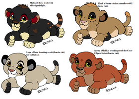Breeding Results For Friends 7 by Natalia-Clark