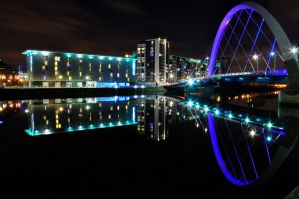Clyde River, Glasgow by Xettpl