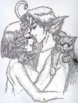 Rezo, His Wife, and a Cat by AmberPalette