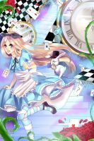 Alice In Wonderland by Saviira