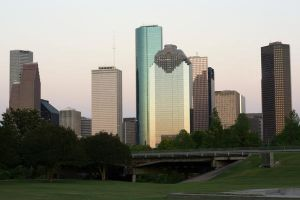 Houston Cityscape by Dyslexic-Ferret