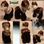 Squall Leonhart Pony by AnimeAmy