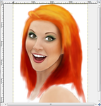 Hayley W digital drawing WIP by Crystalcoomber