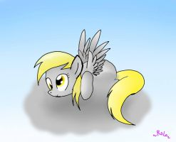 Derpy's Favorite Clouds Are The Grey One's by Spice5400