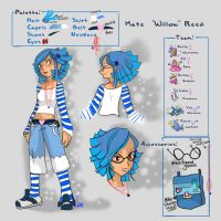 Willow Trainer Ref- PCBC by CrayolaSquirrel