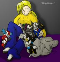 Baby TFs... Nap Time by Autobot-Windracer