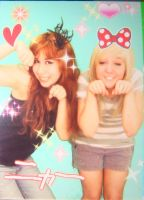 Selena and Alix purikura by selenatopham