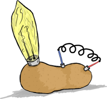 Energy Potato by Zaeinn