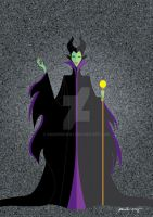 Maleficent by AmadeuxWay