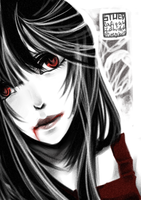 . blood . by stuey-hime