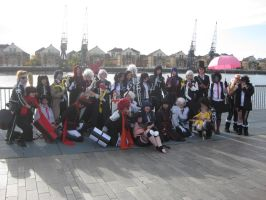 D.Gray-man group pic by silvia7