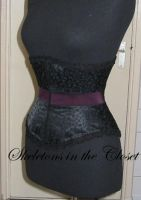 Chique Gotique corset by BlackvelvetSITC