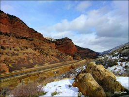 Grand canyons.....UTAH...winter.3 by gintautegitte69