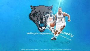 Andrew Wiggins wall by KDforMVP
