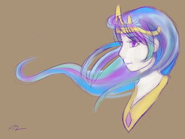 Princess Celestia by Bluest-Ayemel