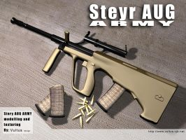 Steyr AUGwp by vultus