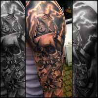 Skull thunder b n g by WillemXSM