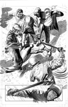 FEAR ITSELF HOMEFRONT2 Pg1 BW by mikemayhew