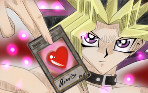 Be the heart of my cards - Yu-Gi-Oh Yami Yugi by rainbow-ravens