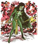Classic Gamora by TheCosmicBeholder