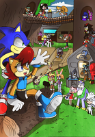 Welcome to Knothole -UPDATED- by Kell0x