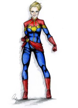 Captain Marvel by Define-X