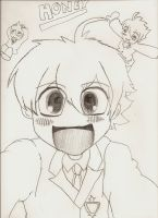 Ouran Koukou Host Club :Honey: by Affy-Wolf