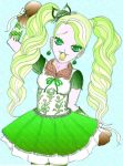 Kitty Cheshire Mint by Mademoiselle-Strange