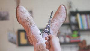 WallPaper Shoes Paris by Isfe