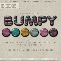 PS Style: Bumpy by HGGraphicDesigns