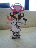 Paper Totems! by iamcrod