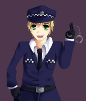 Comm: Police England by Kittybaka-chan